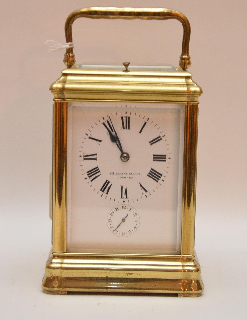 Antique French Sonnere Carriage Clock with repeating