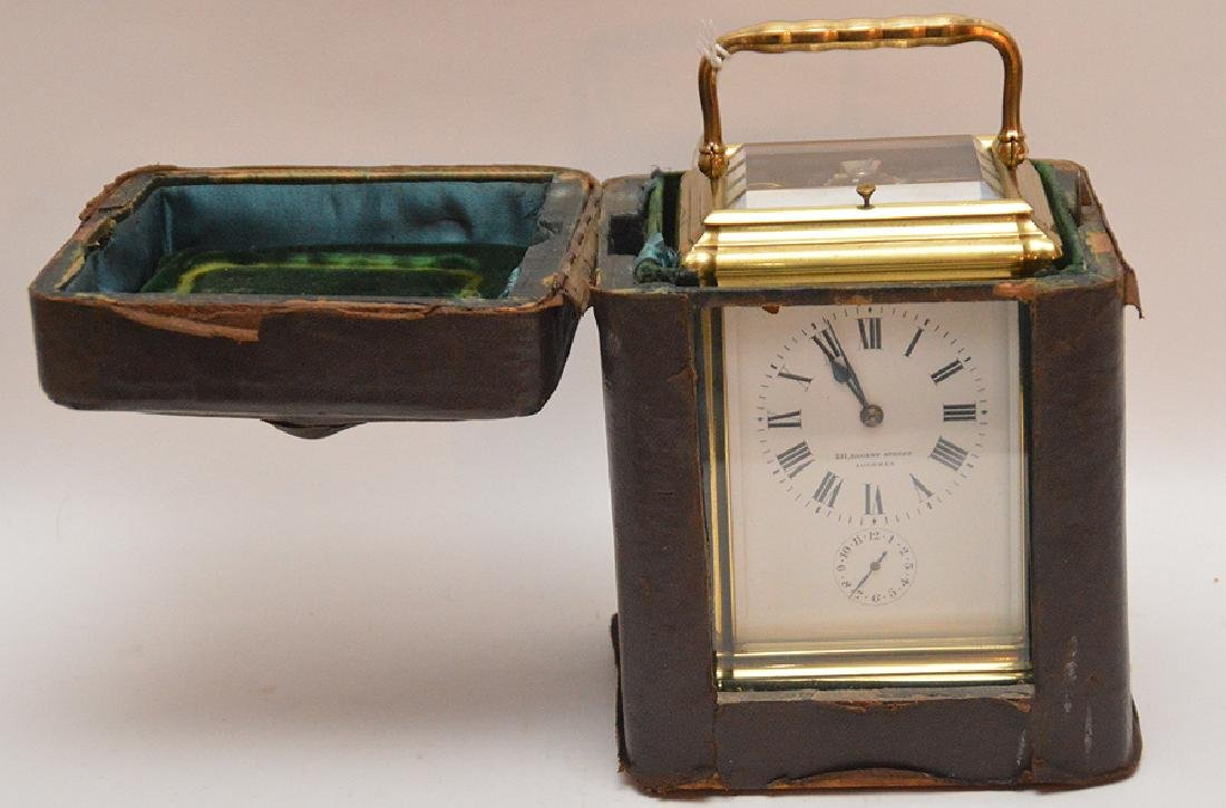 Antique French Sonnere Carriage Clock with repeating - 2
