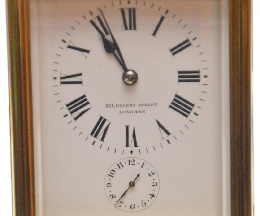 Antique French Sonnere Carriage Clock with repeating - 3