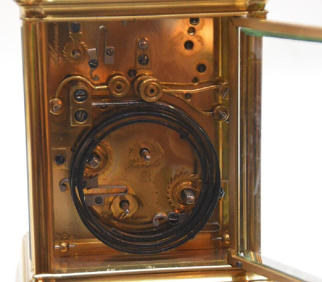Antique French Sonnere Carriage Clock with repeating - 5