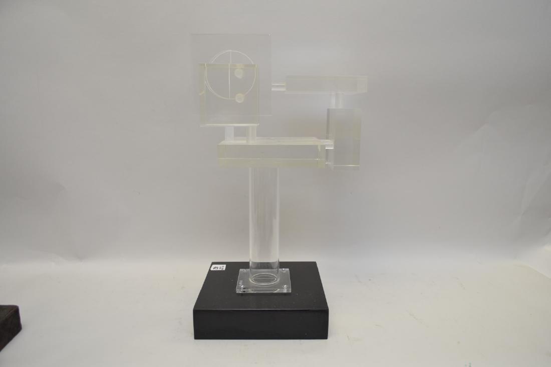 Ted Davis, Mid-Late 20th Century Lucite Sculpture, - 4