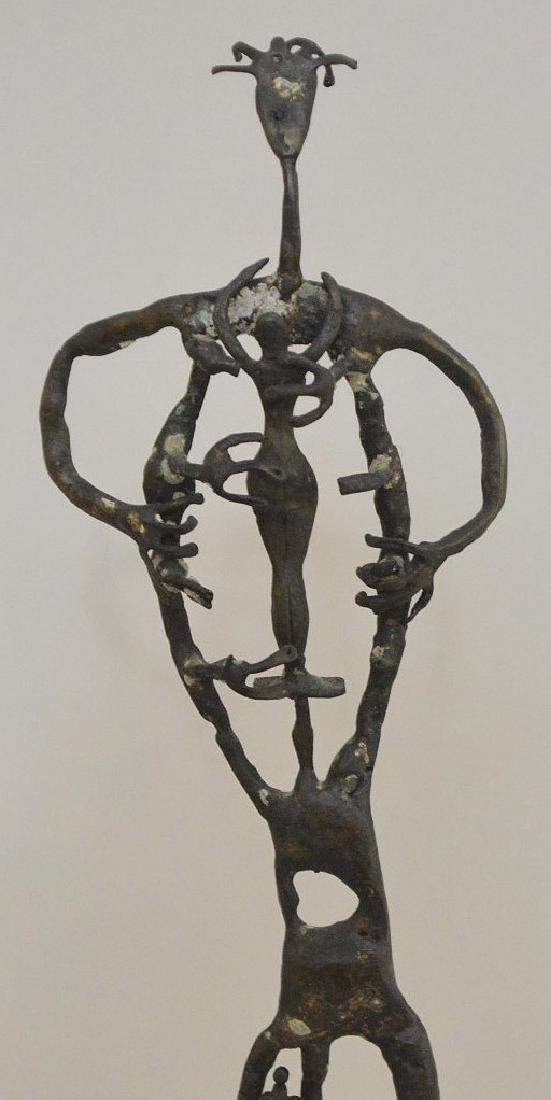 "20th Century Bronze Sculpture, Size: 10"" H  Abstract - 2"
