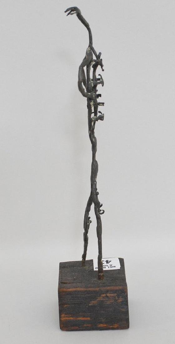 "20th Century Bronze Sculpture, Size: 10"" H  Abstract - 3"