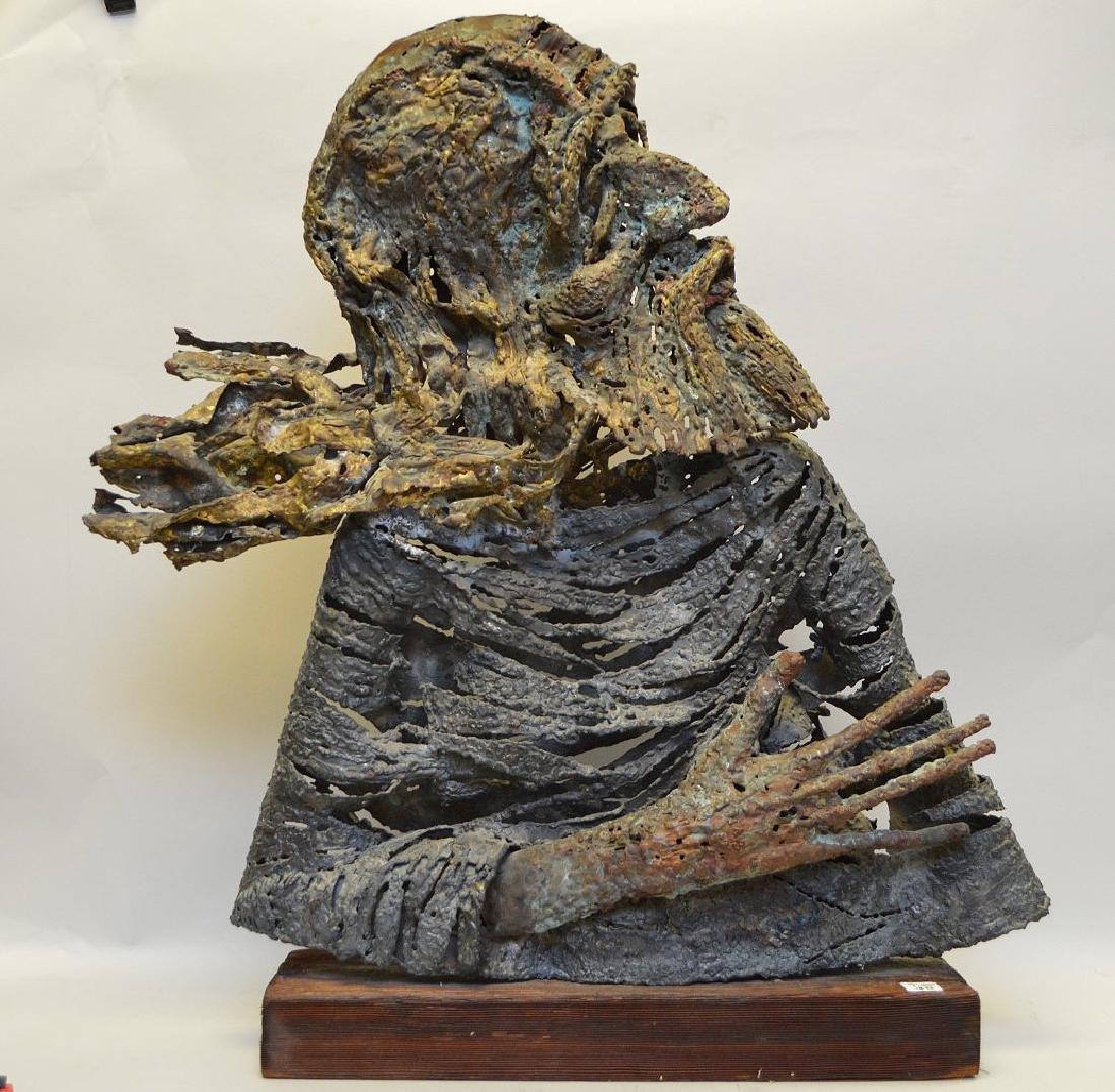 Joseph Domareki, 20th Century, Welded Metal Sculpture