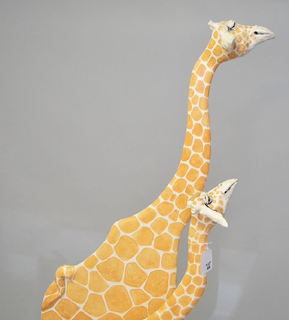 Todd Warner, American born 1945, Giraffe Sculpture, - 2
