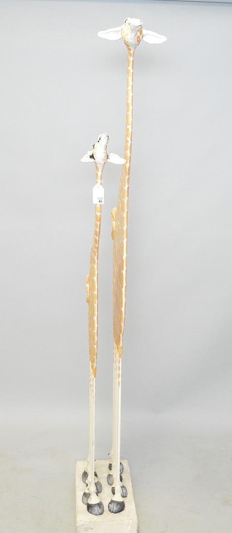 Todd Warner, American born 1945, Giraffe Sculpture, - 4