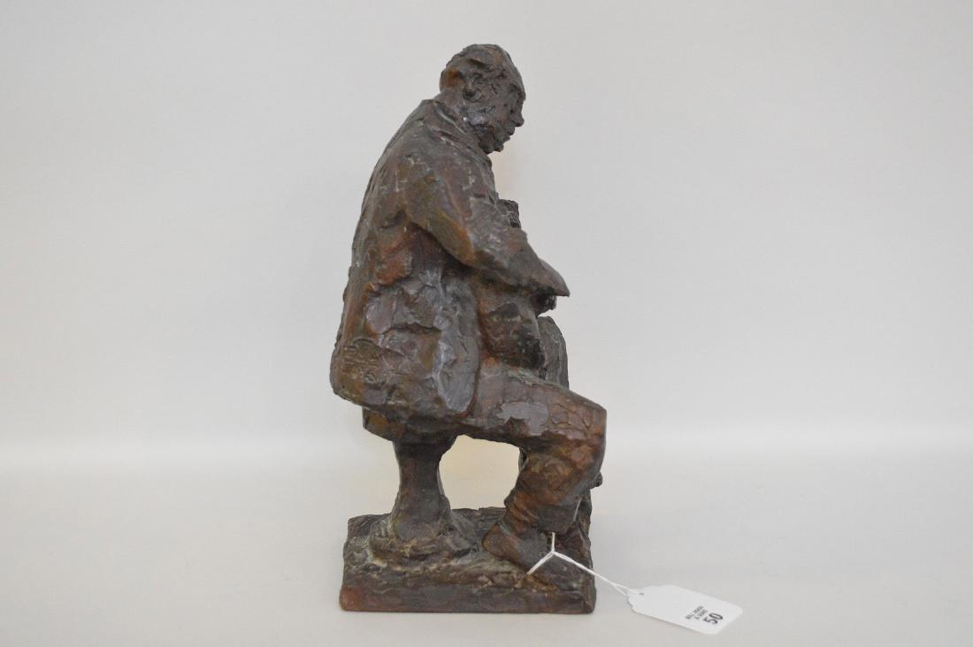 Chaim Gross Bronze Sculpture, Am. 1904-1991, Male - 4