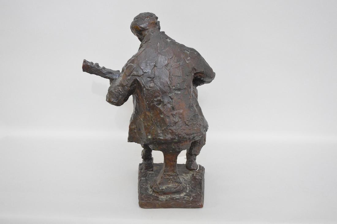 Chaim Gross Bronze Sculpture, Am. 1904-1991, Male - 5