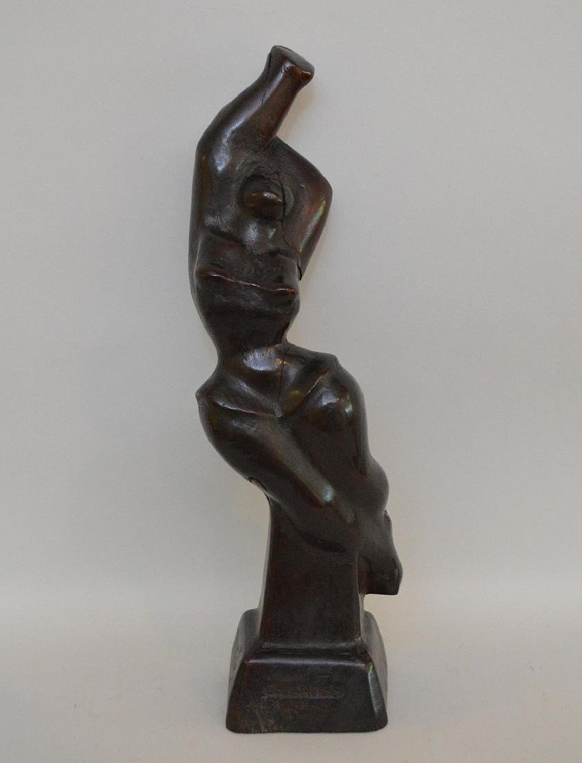 Chaim Gross (American 1904 – 1991) Hand carved wood