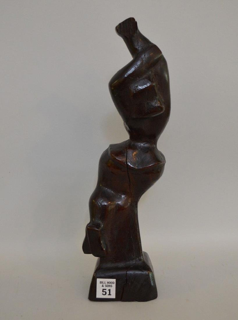 Chaim Gross (American 1904 – 1991) Hand carved wood - 6