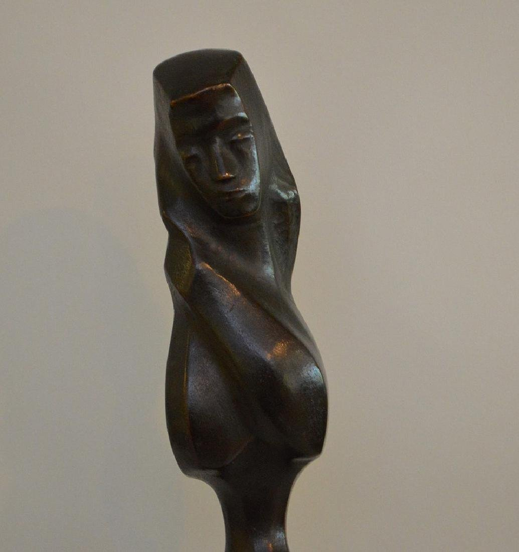 Chaim Gross (American 1904–1991) Bronze Sculpture - 2
