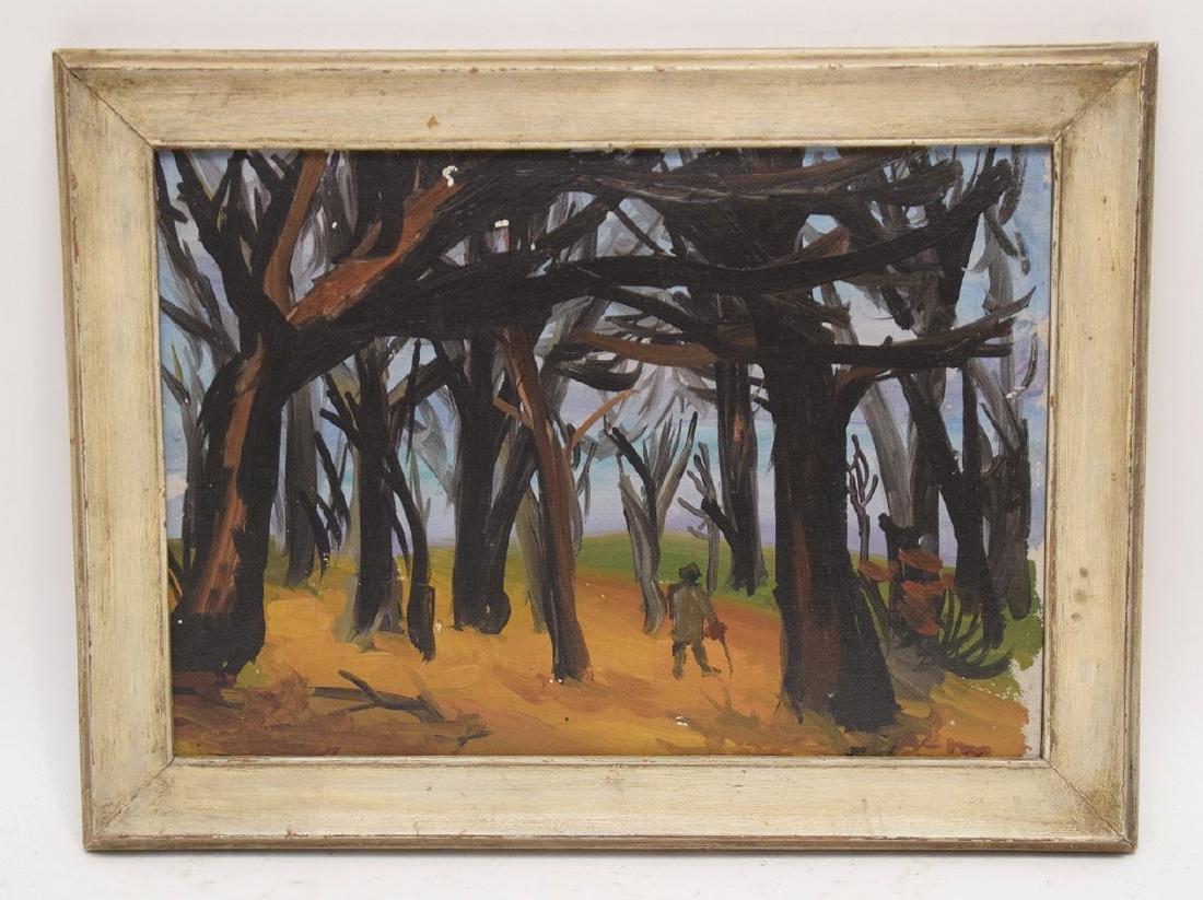 Ben Benn (American 1884 – 1983) Oil on artists' board