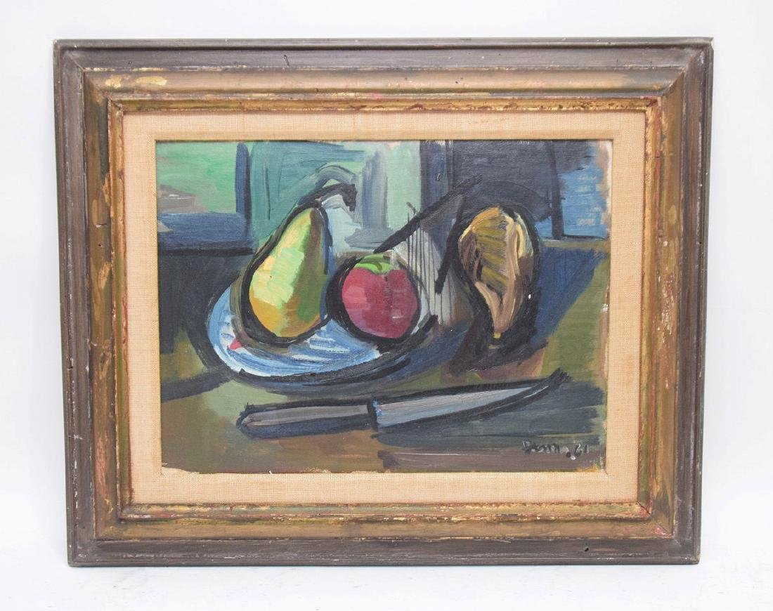 Ben Benn (American 1884 – 1983)  Still life with Fruit,