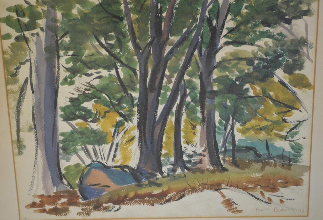 Ben Benn (American 1884 – 1983)  Watercolor on paper, - 2