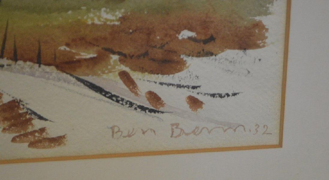 Ben Benn (American 1884 – 1983)  Watercolor on paper, - 3