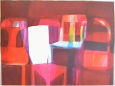 "Tom Vincent Oil on Canvas, Size: 48"" X 60"", Title:"