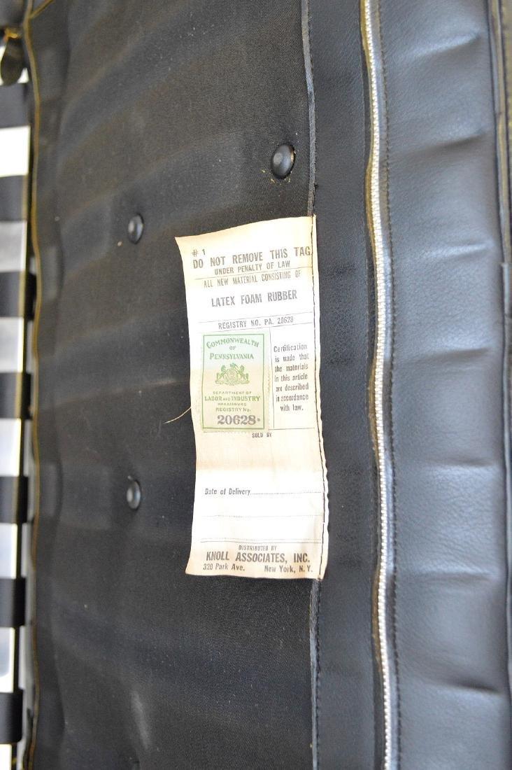 Pr. Barcelona Chairs (2) Black leather, chrome X-form - 6