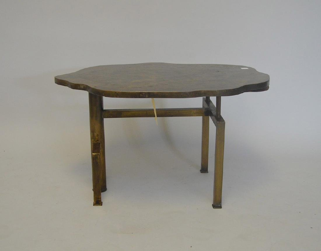 "Phillip & Kelvin LaVerne Side Table – 29"" X 22""  Shield - 2"