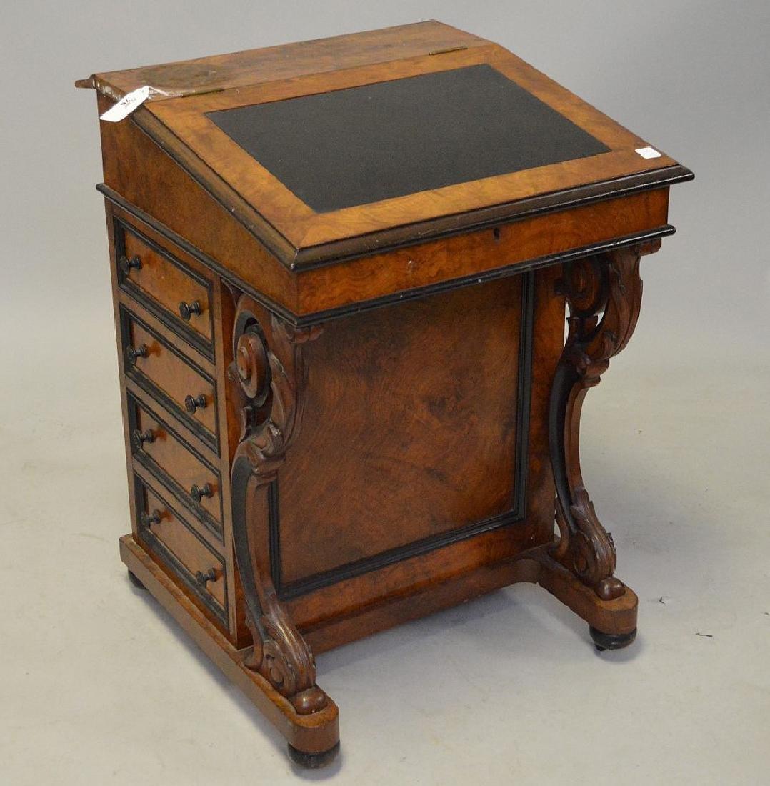 "19th c. Davenport desk, 32""h x 23""w"