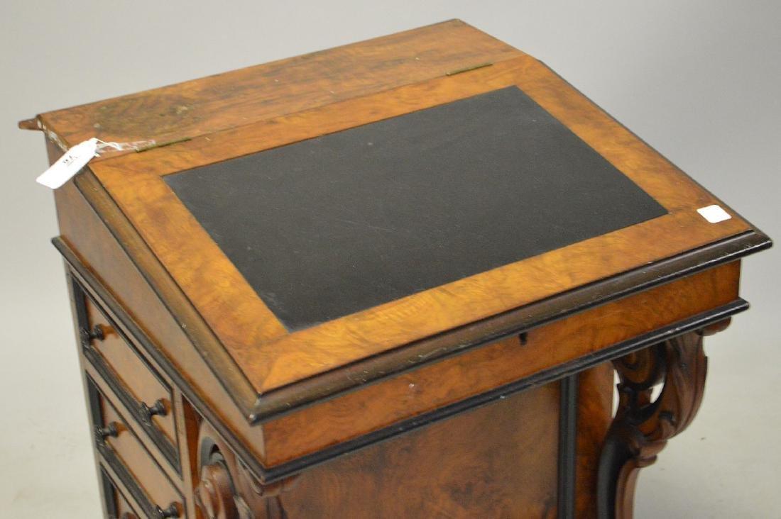 "19th c. Davenport desk, 32""h x 23""w - 2"