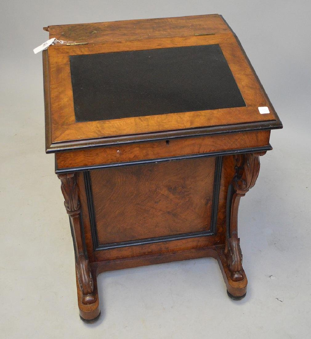 "19th c. Davenport desk, 32""h x 23""w - 3"