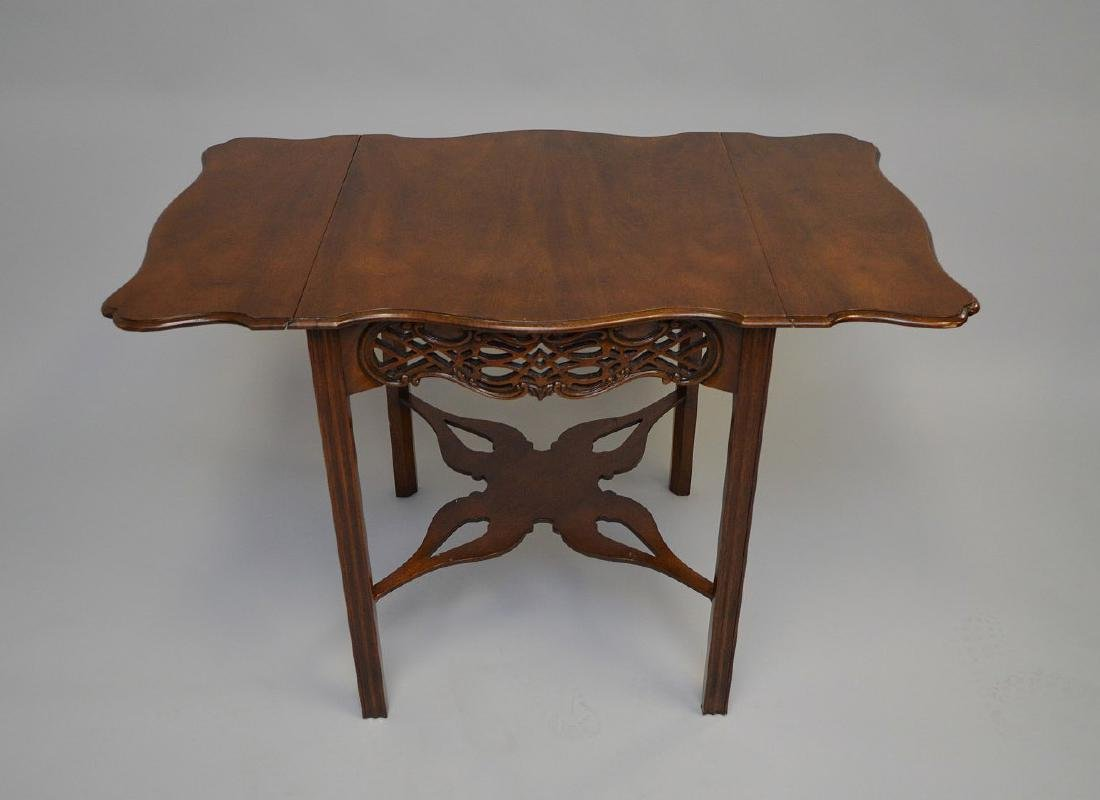 Mahogany Baker drop leaf table, Charleston Museum