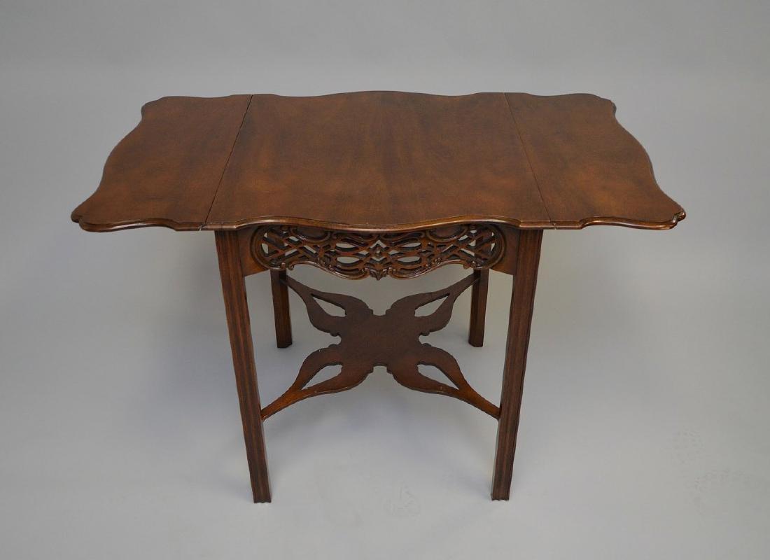 Mahogany Baker drop leaf table, Charleston Museum