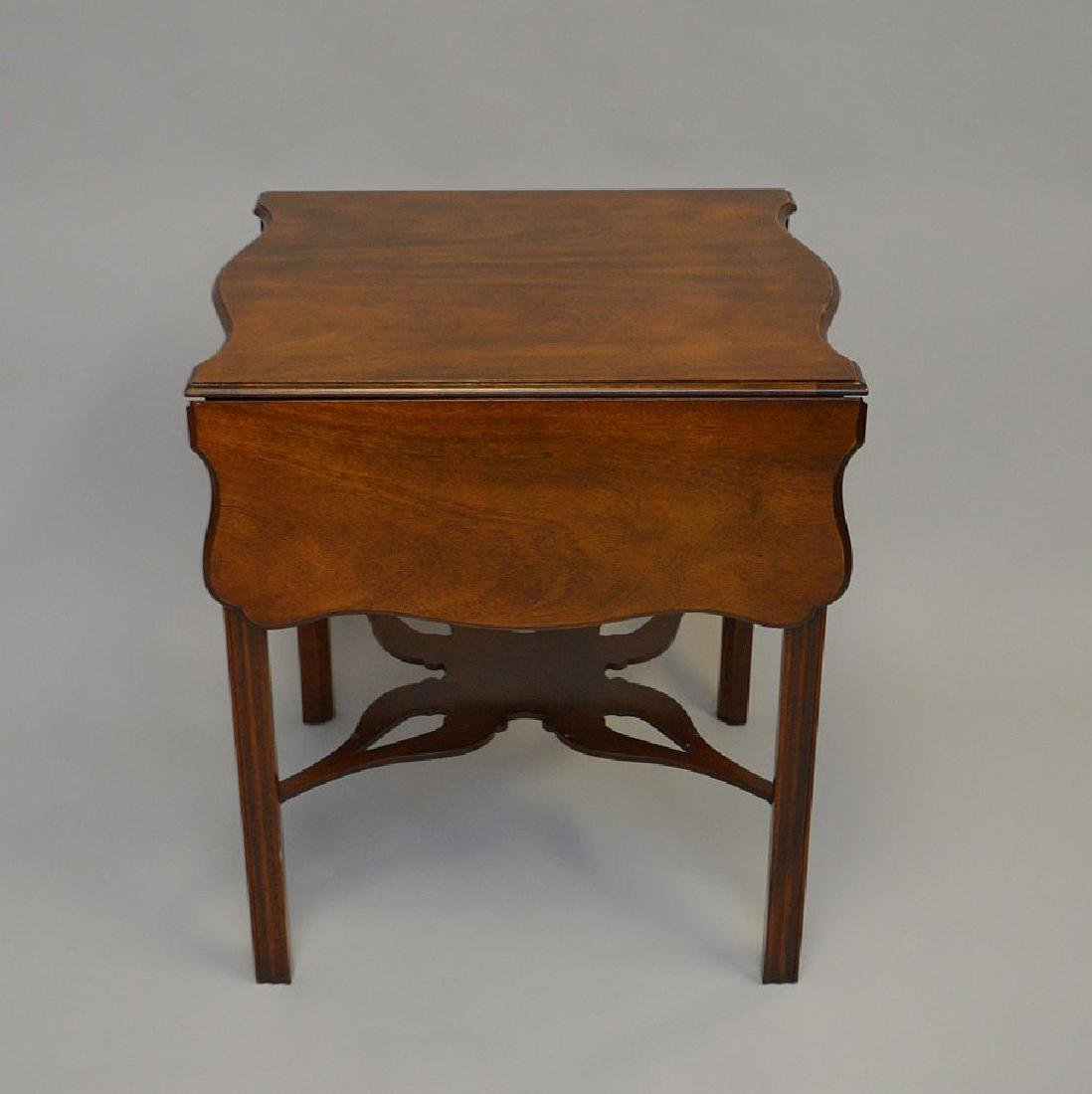 Mahogany Baker drop leaf table, Charleston Museum - 2