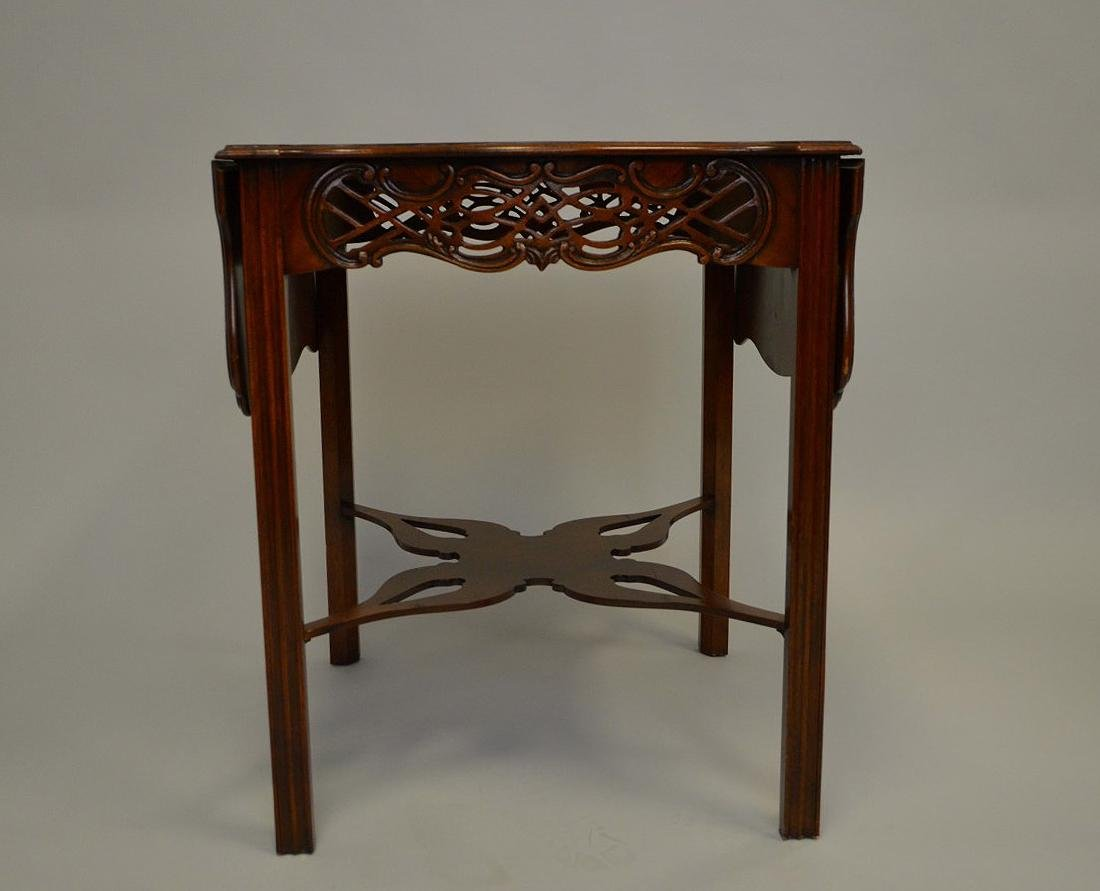 Mahogany Baker drop leaf table, Charleston Museum - 4