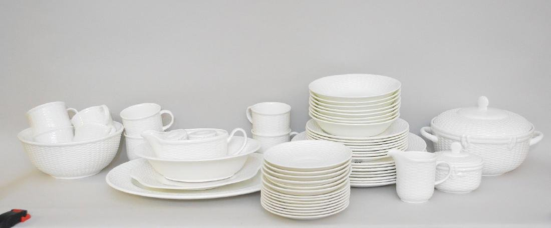 "Wedgwood china service, ""Nantucket"", incl; 8 dinner"