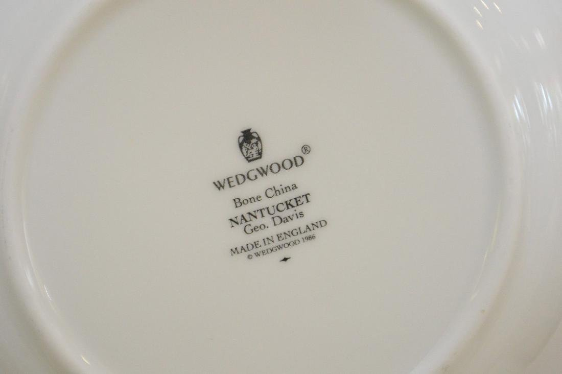 "Wedgwood china service, ""Nantucket"", incl; 8 dinner - 8"