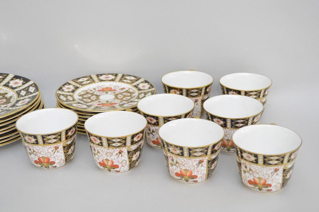 Royal Crown Derby, 40 pieces,  incl; 8 dinner plates, 8 - 3