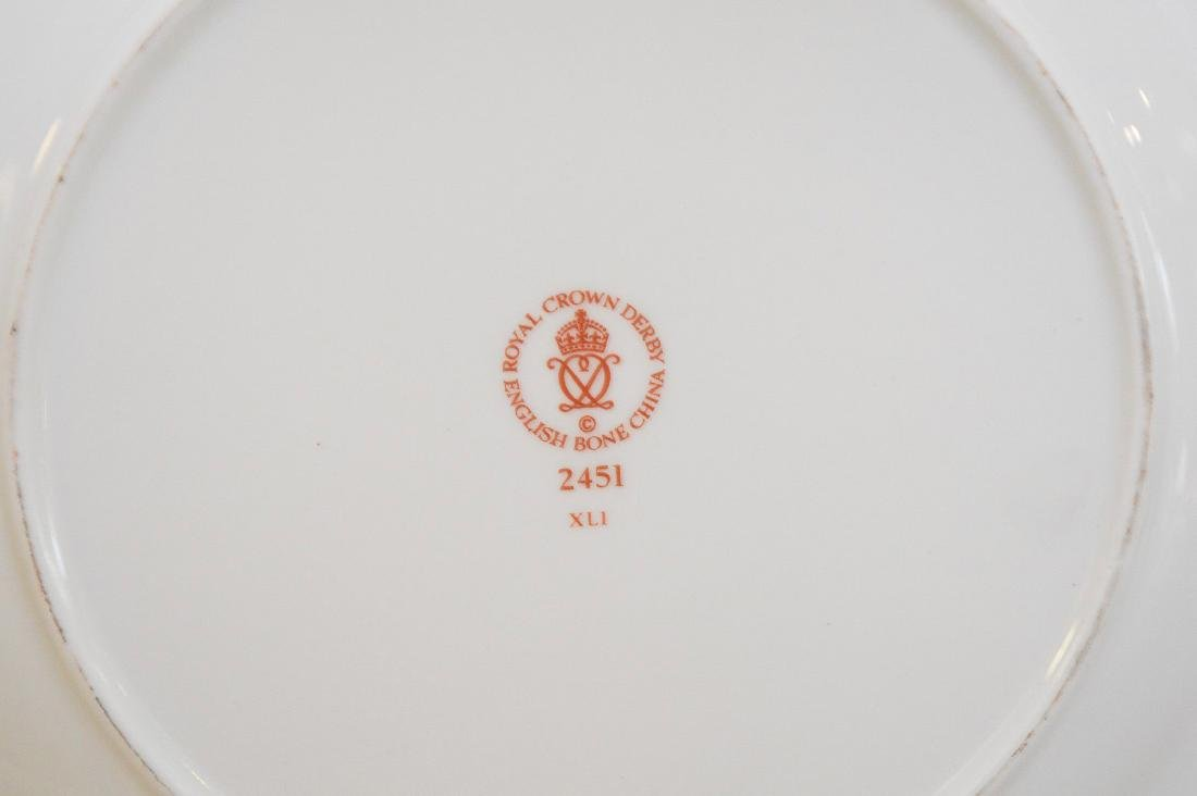 Royal Crown Derby, 40 pieces,  incl; 8 dinner plates, 8 - 5