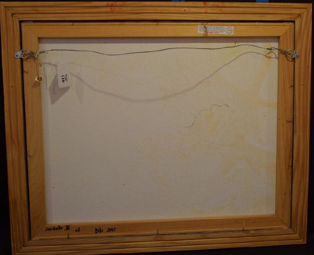 Original Painting, oil on board, Starfish, driftwood - 4