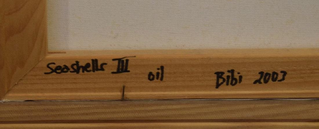 Original Painting, oil on board, Starfish, driftwood - 5