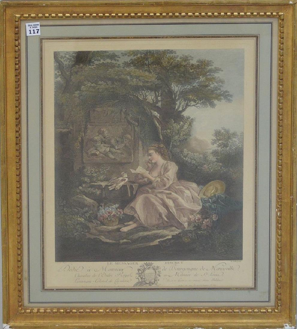 French 19th c. engraving