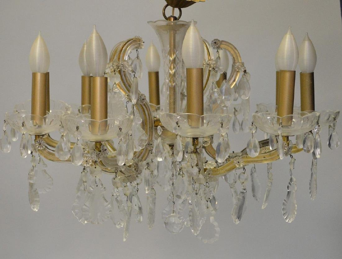 Crystal chandelier with 10 branch multiple crystal - 4