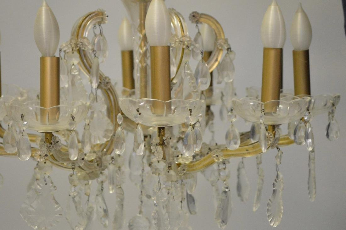 Crystal chandelier with 10 branch multiple crystal - 5