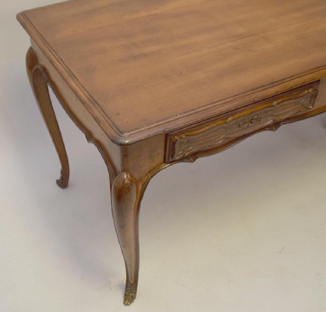 French Walnut Bureau Plat / Ladies Desk 20th Century, - 4