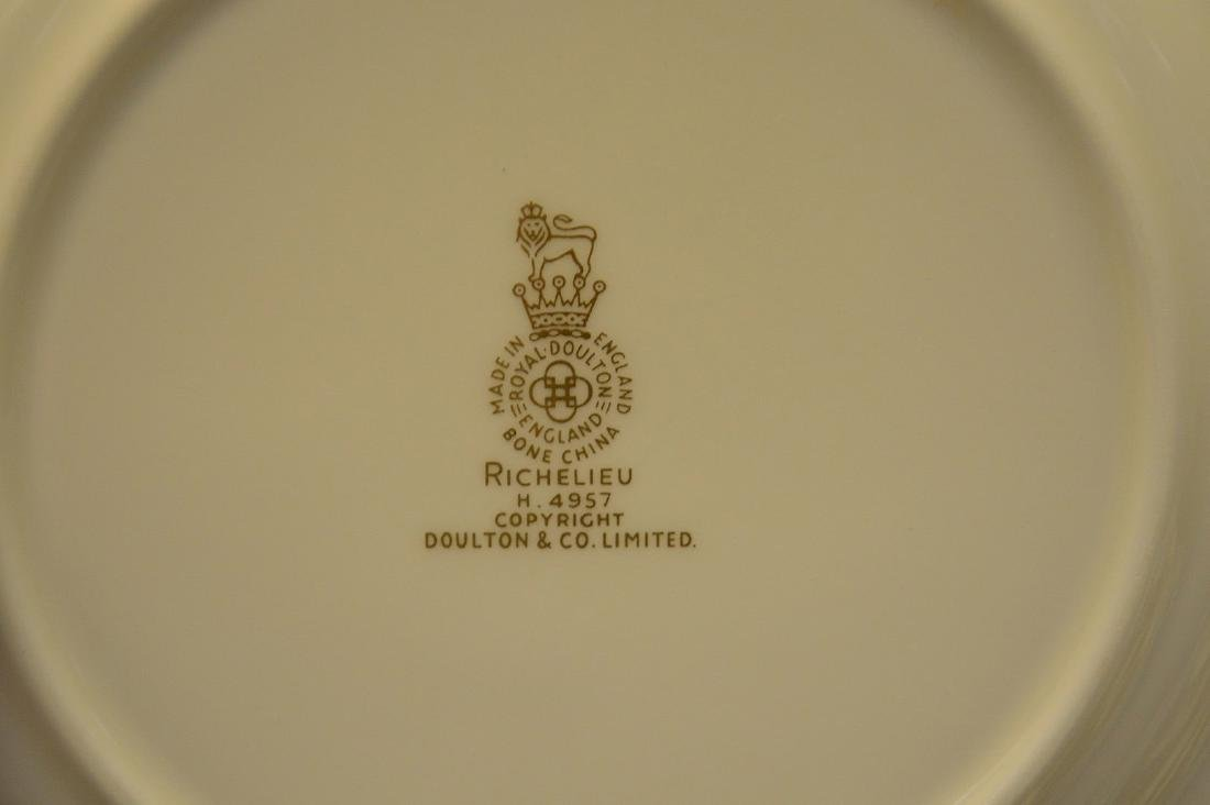 Approximately 56 pieces, Royal Doulton chinaware with - 5