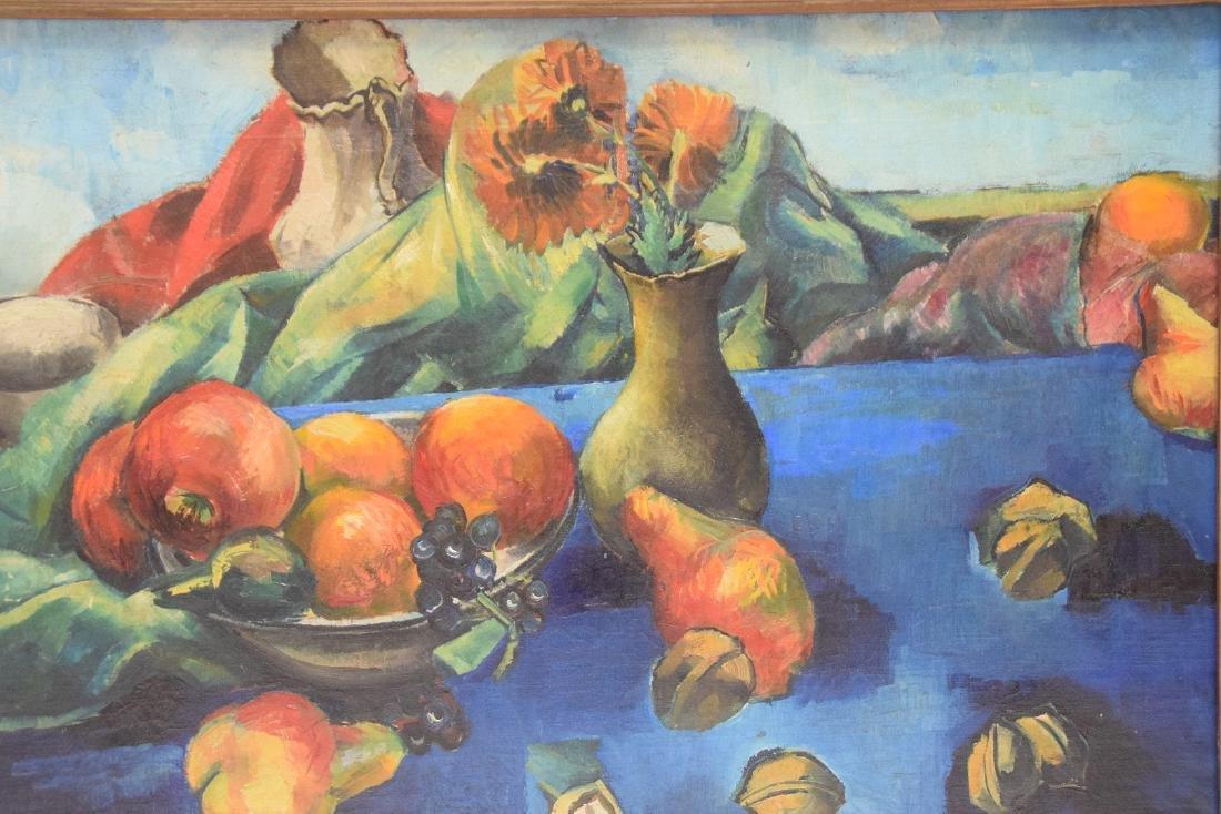 Philip Evergood  (American 1901 - 1973) Oil on canvas, - 2