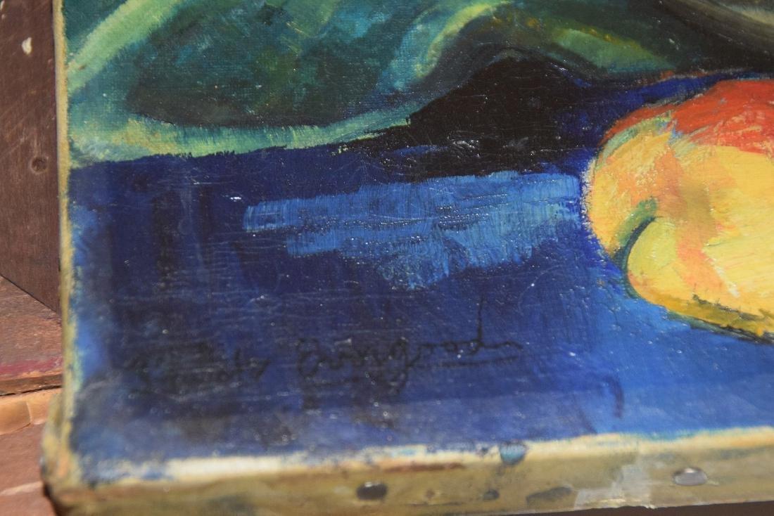Philip Evergood  (American 1901 - 1973) Oil on canvas, - 4