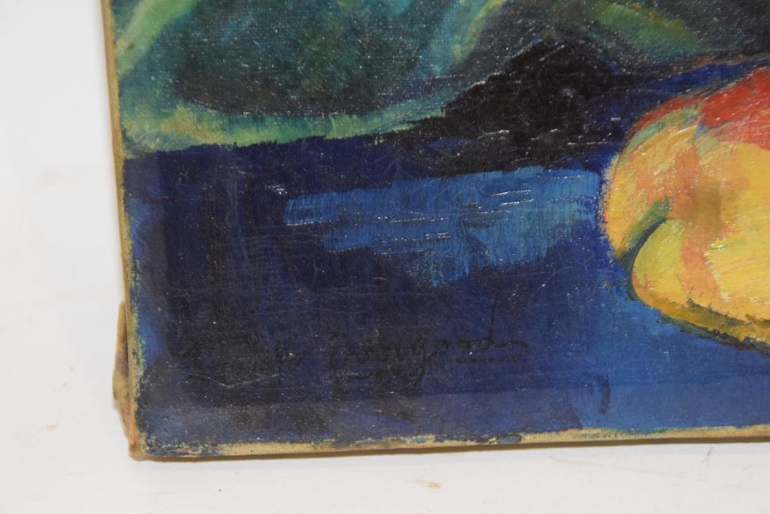 Philip Evergood  (American 1901 - 1973) Oil on canvas, - 5