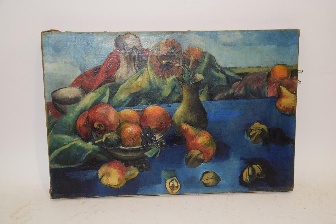Philip Evergood  (American 1901 - 1973) Oil on canvas, - 6
