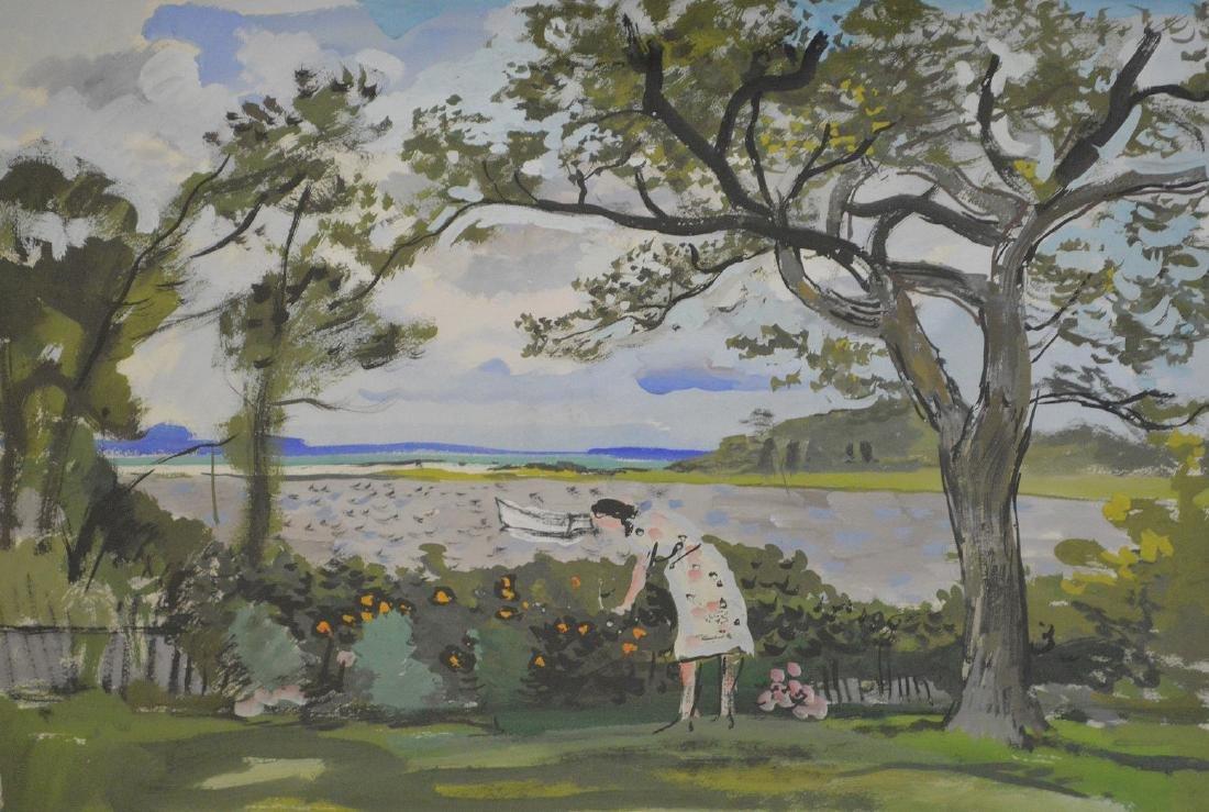 Nicolai Cikowsky (1894 – 1984) Polish/American, 20th - 2