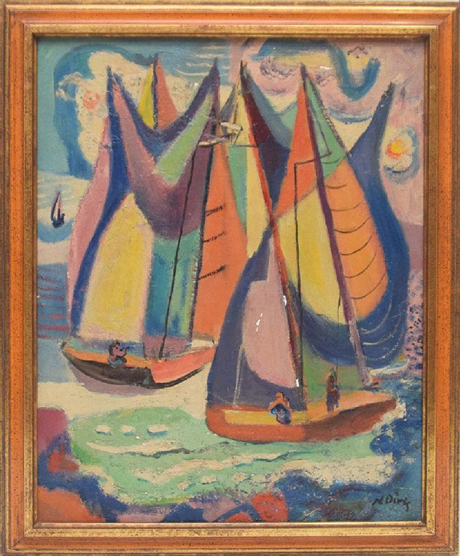 Nathaniel Dirk Am. Modernist Sailboats