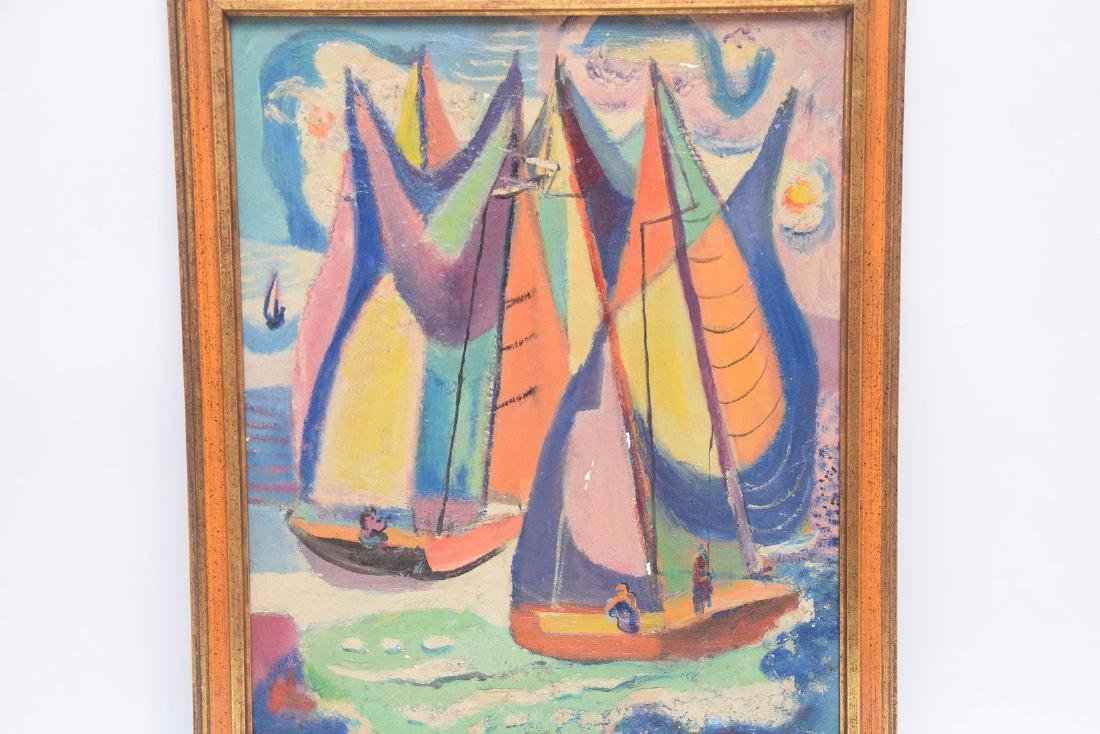 Nathaniel Dirk Am. Modernist Sailboats - 4