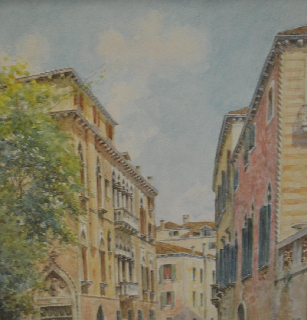 Rafael Senet y Perez  (Italian 1856 - 1926) Watercolor - 2