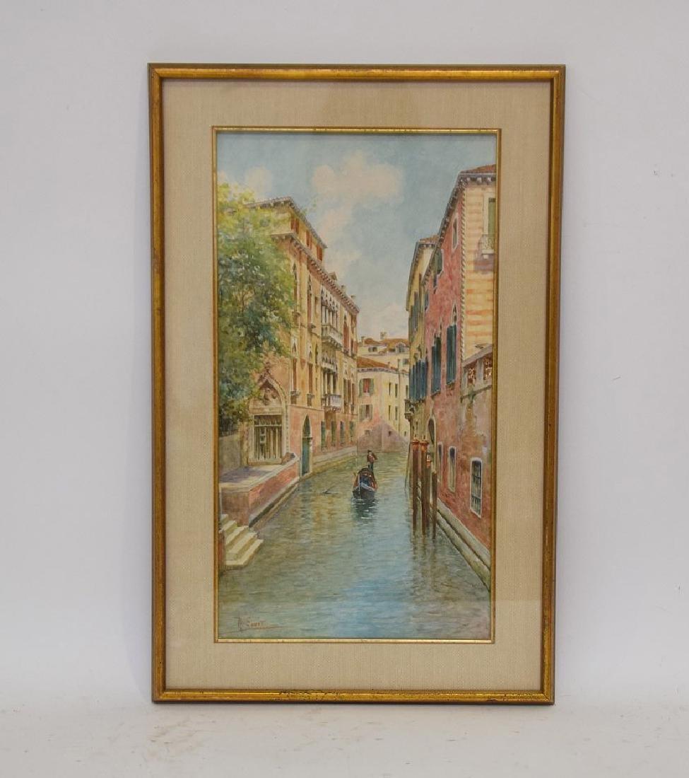 Rafael Senet y Perez  (Italian 1856 - 1926) Watercolor - 6