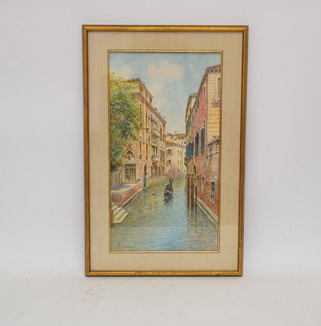 Rafael Senet y Perez  (Italian 1856 - 1926) Watercolor - 7